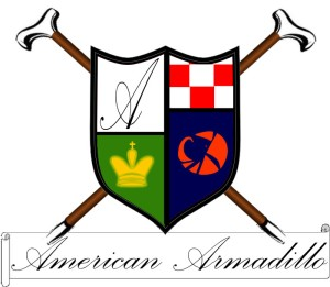 American Armadillo Crest Logo New