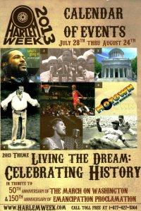 Harlem Week 2013 Front