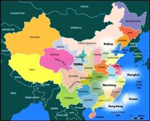 Map of Nanchang