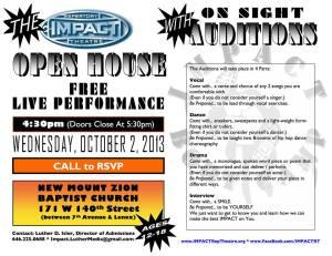 Impact Open House