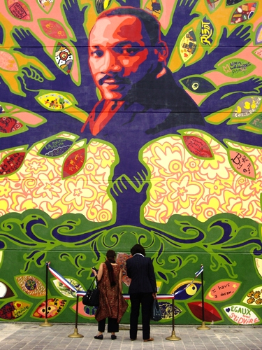 Happy mlk jr day ottoo brand artivism pader for Call for mural artists 2014