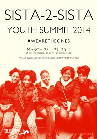 Hannah is Chair of the Outreach Committee for the Sista-2-Sista Youth Summit 2014.