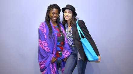 Article by Ben Johnson; Photo by Mel Cramer; Abrima Erwiah and Rosario Dawson at SXSW. Erwiah and Dawson are the co-creators of Studio189, a platform to promote African and African-inspired content. Dawson appeared at the conference to speak on engaging millennials. Our interview with her airs this week.