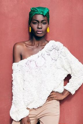 She was first discovered after participating in the continental model search Face of Africa in 2005, where she was a top five finalist. Adeola's modeling career began at the age of 13 in London. She has since walked the runway at London Fashion Week, Arise Fashion Week in Lagos, Johannesburg Fashion Week and Cape Town Fashion Week.