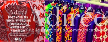 Adiree campaigns for African Fashion Week New York; linking style lovers, artists, bloggers, and designers through social media. platforms.