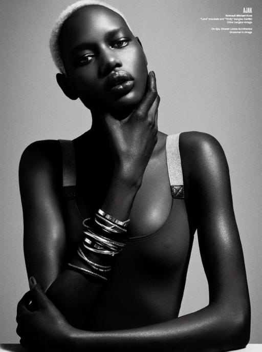 ajak-deng-black-fashion-model