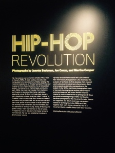 Hip-Hop Revolution Exhibit