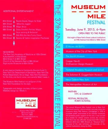 Museum Mile Program