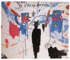 """Defacement..."" (Basquiat)"